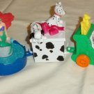 1990s McDonald's Disney Peanuts Happy Meal Birthday Promotional Train 5-pieces