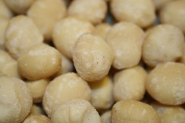 MACADAMIA NUTS RAW UNSALTED, 1LB
