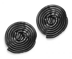HARIBO BLACK LICORICE WHEELS