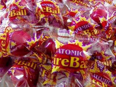 ATOMIC FIREBALLS CANDY (Large Size) - Ferrara Pan Candy -5 lbs