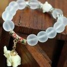 Tibetan elephant crystal bracelet
