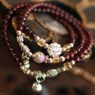Exclusive new multi-element Tibetan silver bracelet bells small fish mash female models