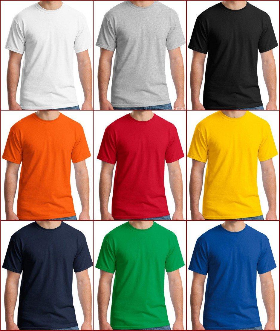Multicolor high quality man's Ultra Cotton Adult T-Shirt xs-2xl YF40