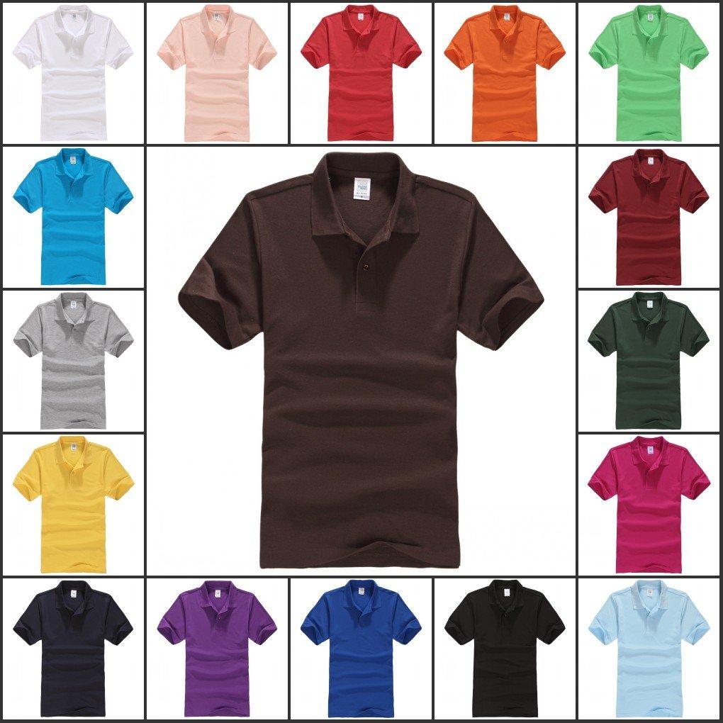 2014 Mens color Golf Polo Shirt 16 Colors Choose S-3XL YF43