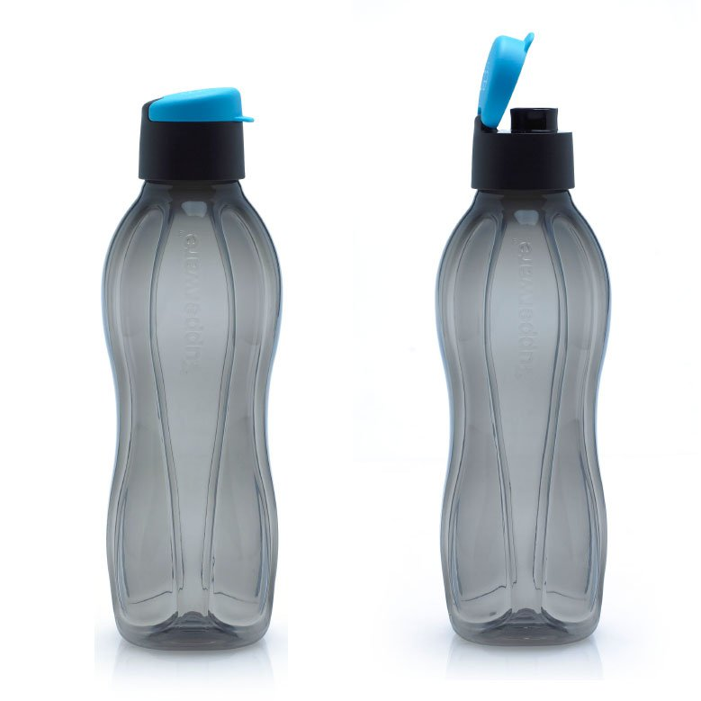 New Tupperware Eco Bottle Men Black 750 Ml