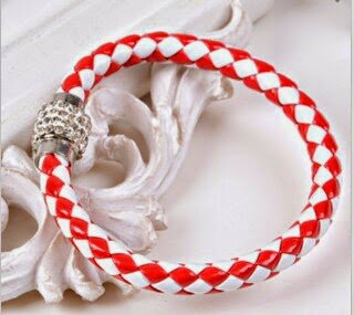 Sporty Red  & White