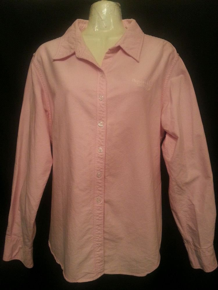 Texas A&M University Pink Xlarge Shirt (16-18) Embroidered Crable for Her