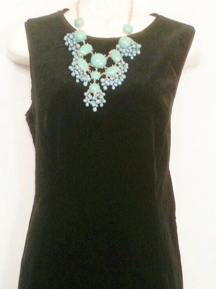 Gap Size 8 black Velvet Party Dress