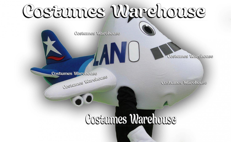 Airplane Costume Mascot