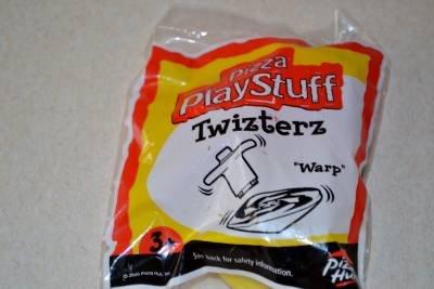 Twizterz Warp Spinning Top New Unopened 2000 Pizza Hut Play Stuff 3+