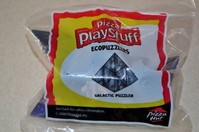 Ecopuzzlers Galactic Puzzler New Unopened 2000 Pizza Hut Play Stuff  3+