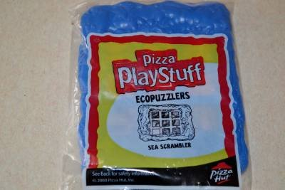 Ecopuzzlers Sea Scrambler New Unopened 2000 Pizza Hut Play Stuff