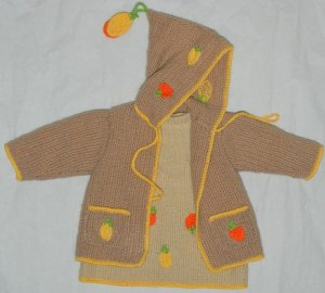 brown knit wear