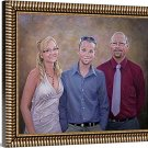 """Oil paintings from photo, 3 people, 20""""x24"""", unframed - Photos to oil paintings"""