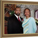 """Photo to oil painting, 2 people, 20""""x24"""", unframed - Custom oil paintings"""