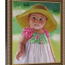 """Photo oil painting, 1 person, 16""""x20"""", unframed - Personalized oil paintings"""