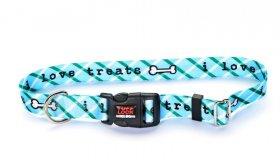 TuffLock Blue Treats Collar- Small