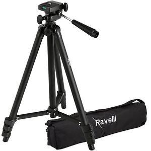 "Ravelli APLT2 50"" Light Weight Aluminum Alloy Tripod with Bag"