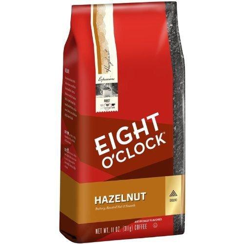 Eight O' Clock Hazelnut Ground Coffee, 11-Ounce Bags  6 Bags