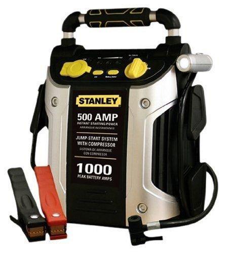 Jump Starter 1000 Peak Amp with Built IN Compressor Stanley