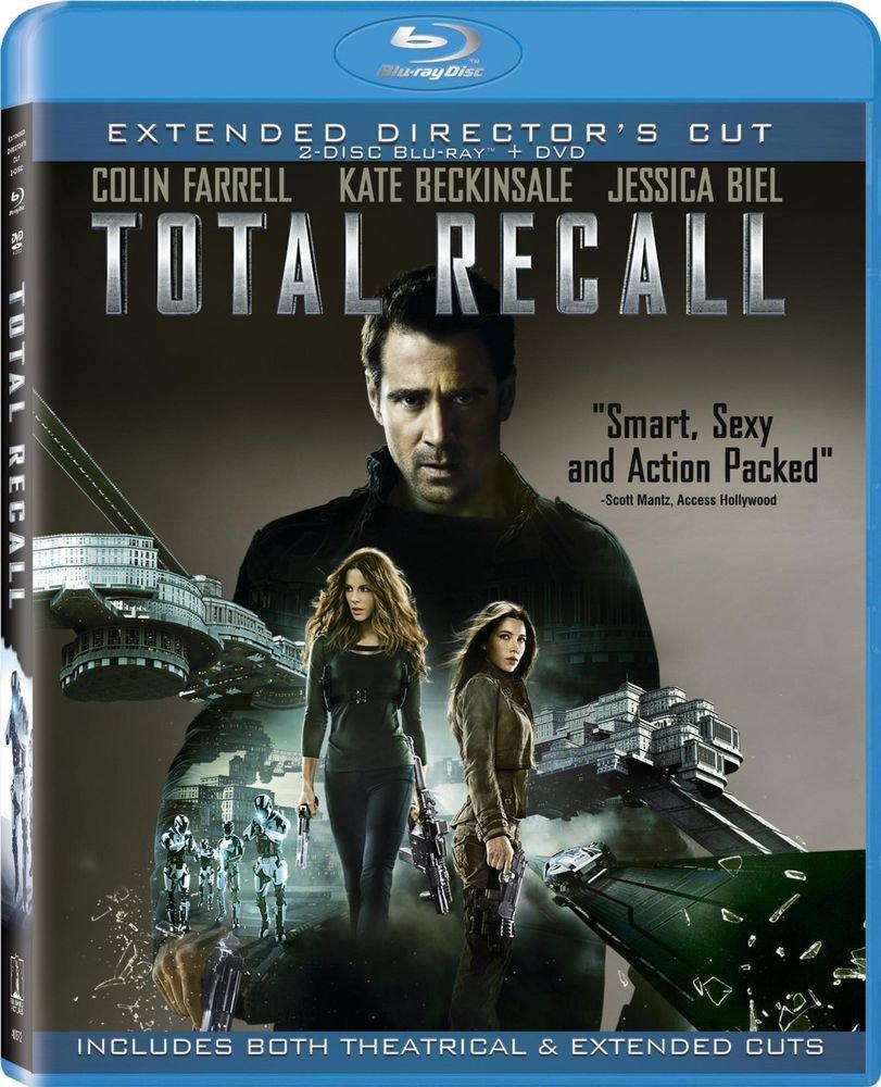 Total Recall (Three Discs: Blu-ray / DVD + UltraViolet Digital Copy) (2012)