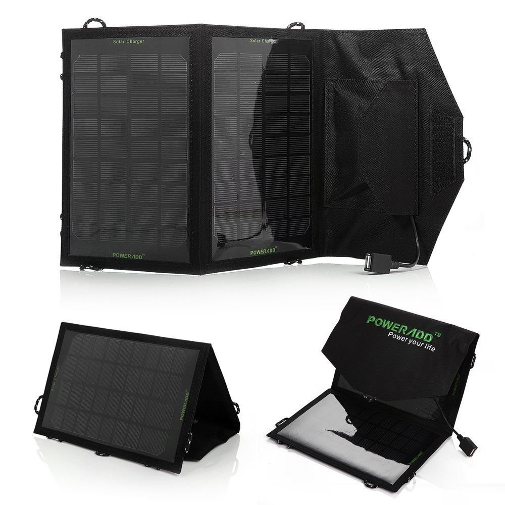 Anker 8W Solar Panel Fold Single-port Solar Charger for 5V USB Devices