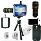 Samsung Galaxy S4 Camera Lens Kit including 8x Telephoto Macro Wide Angle