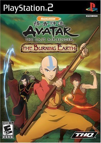 Avatar: The Last Airbender -- The Burning Earth  (Sony PlayStation 2, 2007)
