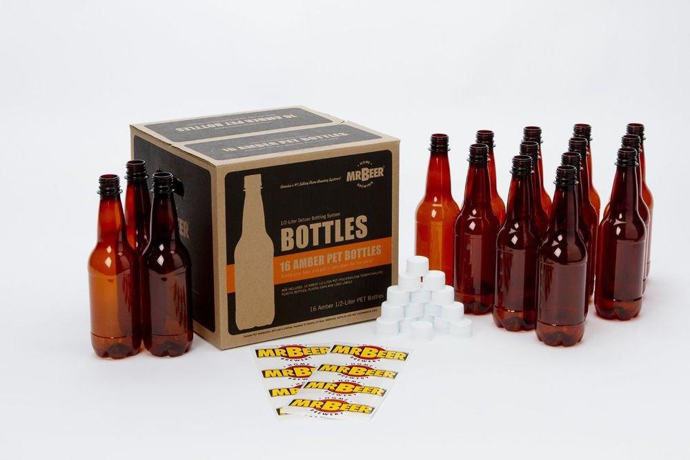 Mr. Beer Deluxe Beer Bottling System, 0.5-Liter