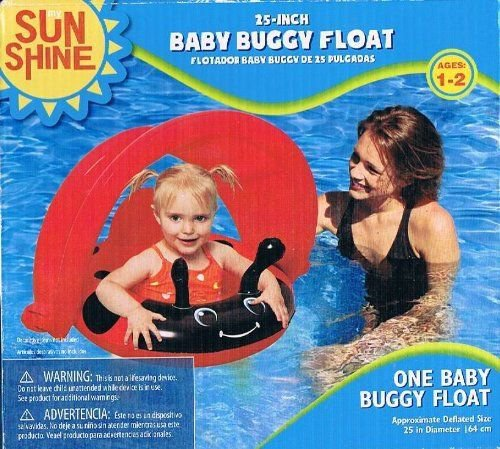 Sunshine Baby Buggy Float Swimming Pool Water Sports 25 in. Ages 1-2