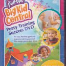 BIG KID CENTRAL - POTTY TRAINING SUCCESS DVD - New Factory Sealed