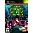XBOX World Championship Poker No Limit Texas Hold 'Em 7 Card Stud 5 Card Draw