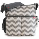Skip Hop Duo Deluxe CHEVRON Essentials  Diaper Bag Stroller Baby