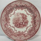 "Spode Archive Collection Victorian Series Continental Views 10.5"" Dinner Plate"