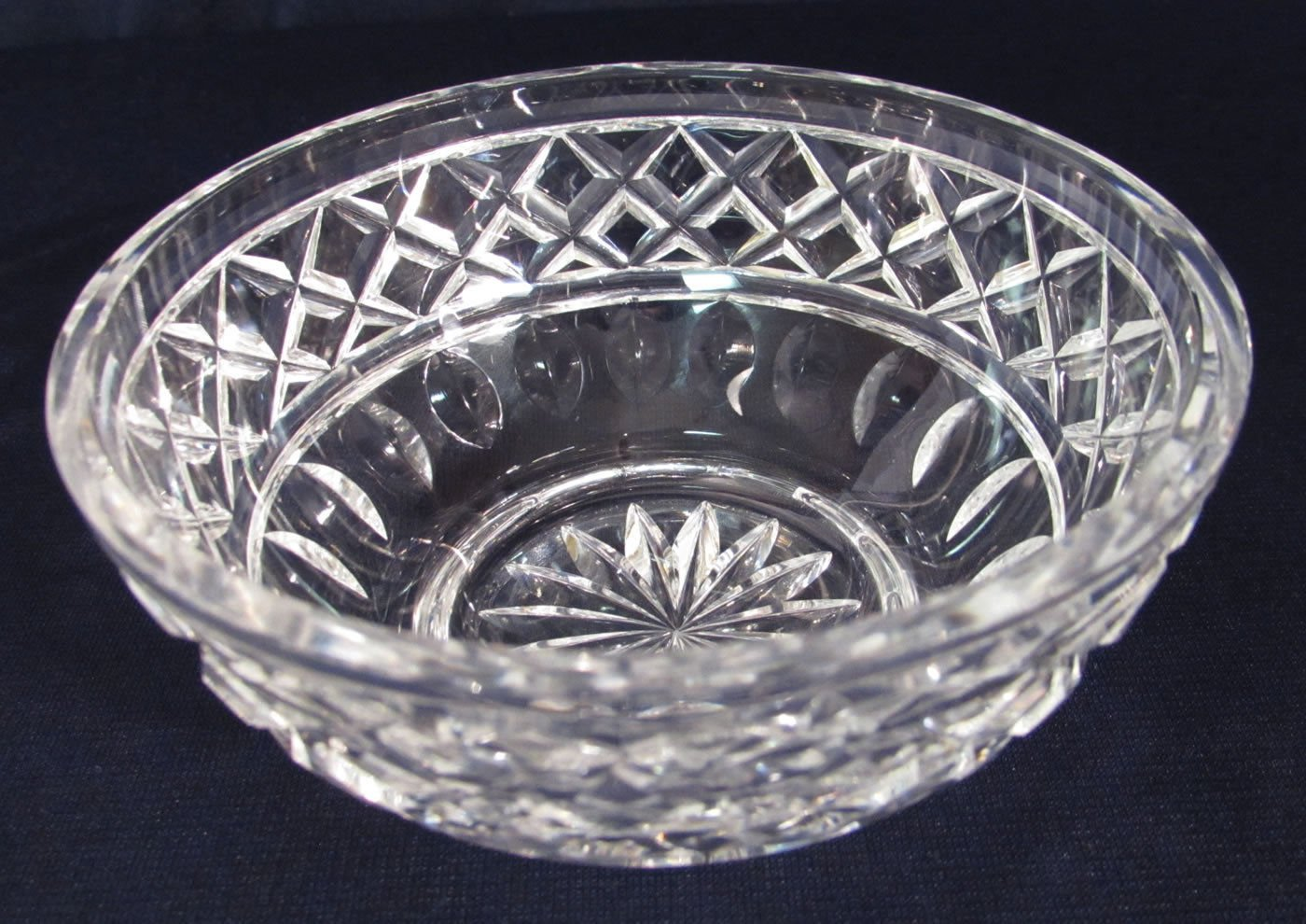 "Vintage Waterford Crystal Giftware 4"" Round Bowl, Unmarked NICE"