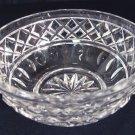 "Vintage Waterford Crystal Giftware 4"" Round Bowl, Unmarked NICE"