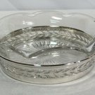 Watson Co Sterling Silver Hollowware Holder & Jelly Condiment Dish #B618
