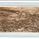 Vintage Photo Postcard Aerial View of Pennsylvania State College Penn State