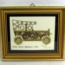 Rolls Royce Phantom 1926 David of London Horological Montage Watch Parts Framed