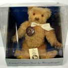 "Vtg Teddy Bear Jointed Merrythought 15"" Growler Mohair England Limited Edition"