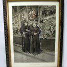 19th Century Photogravure Gebbie Husson Co Ltd Mathias Schmid Austrian Monks