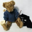 "Vintage 1998 Teddy Bear Brown Jointed Classic 12"" High Signed Amanda Bailey"
