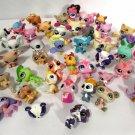 Lot of Hasbro Littlest Pet Shop Animals (43) Cats Birds Dogs Turtle Pony +++