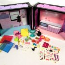 Hasbro Littlest Pet Shop House Panels (2) w/ Accessories Style A8542 & A8544