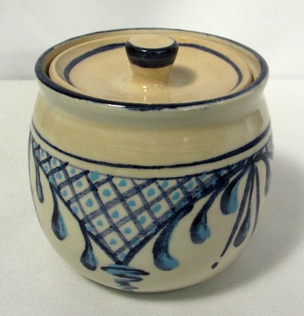 Hand Crafted Heidi Z. (Zeitler?) Pottery Jar Pot w/ Lid Small