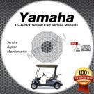 Yamaha Golf Cart Service Manual on DVD G2 G9 G11 G14 G16 G19 G20 G22 G29 YDR