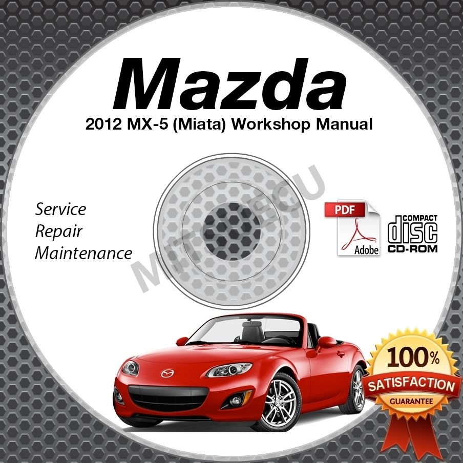 2012 Mazda Miata MX-5 Service Manual CD Workshop Repair 2.0L NC *NEW* High  Def