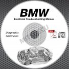 1983-1989 BMW E24 Electrical Troubleshooting Manual CD wiring diagnostics 635CSi