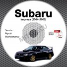 2004-2005 SUBARU IMPREZA Sedan WRX STi Wagon Service Repair Manual CD