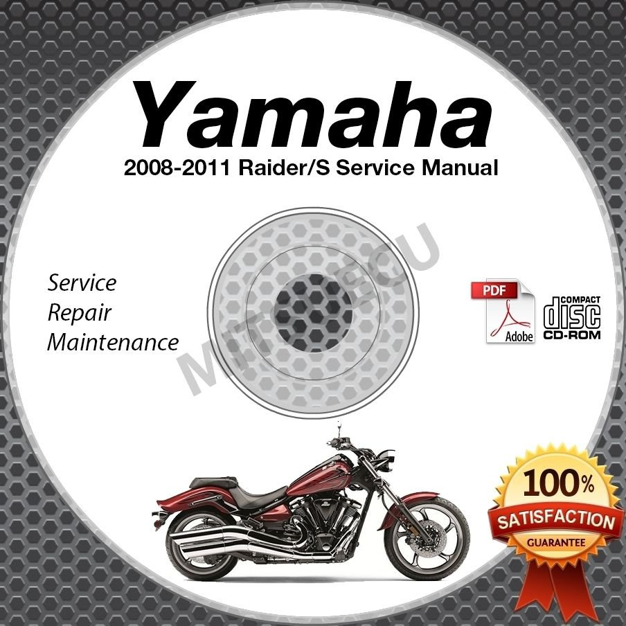 2008 2011 yamaha raider s service manual cd rom repair shop xv1900 rh ecrater com yamaha raider service manual yamaha raider owners manual pdf